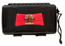 Smokin' Bear Cigars 10 Count Travel Humidor Gratus
