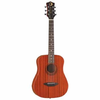 Luna Safari Travel Muse Mahogany Acoustic Guitar