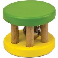 Green Tones Rattle Roller Bells