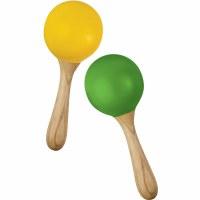 Green Tones Egg Maracas