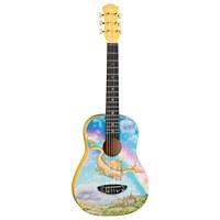 Aurora Dragon Nylon Guitar 1/2 Size