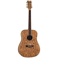 Dean AXS Dreadnought Quilt Ash Acoustic Guitar Gloss Natural