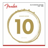 Fender Bronze Acoustic Strings Ball End Extra Light