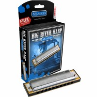 Hohner Big River Harp Series Mouth Harp in Key of F
