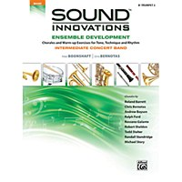 Alfred's Sound Innovations for Advanced Concert Band Book 4 Trumpet Second