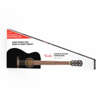 Fender CC-60S Concert Pack Black