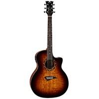 Dean Exotica Quilt Ash Trans Brazilia Acoustic Electric Guitar