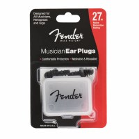 Fender Muiscian Series Ear Plugs, Black