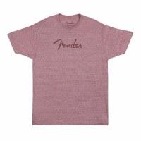 Fender Spaghetti Logo T-Shirt Wine Large