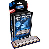 Hohner Blue Midnight Series Harmonica in Key of C (595BX-C)