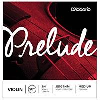 D'Addario 1/4 Prelude Violin Strings (J810 1/4M)