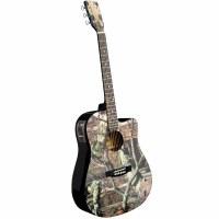 Mossy Oak A/E Guitar