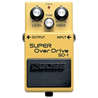 Boss Super Overdrive Effects Pedal SD-1