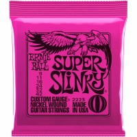 Erine Ball Super Slinky Nickel Wound Electric Guitar Strings -  9-42 Gauge