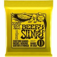 Ernie Ball Beefy Slinky Nickel Wound Electric Guitar Strings - 11-54 Gauge