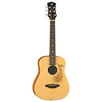 Luna Safari Travel Henna Acoustic Electric Guitar