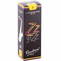 Vandoren 5 Pack ZZ Tenor Saxophone Reeds Size #2
