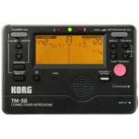 Korg Digital Tuner and Metronome Combo (TM50BK)