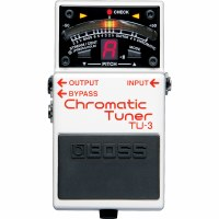 Boss Chromatic Tuner Effects Pedal TU-3
