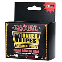 Ernie Ball Wonder Wipes Instrument Polish 6 Pack