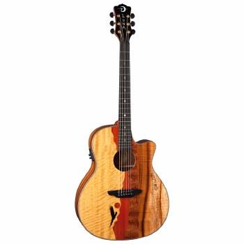 Luna Vista Eagle Acoustic Electric Guitar