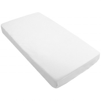 Organic Mini Crib Sheet White