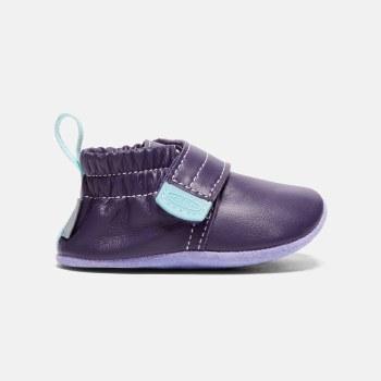 Leo Crib Shoe Purple 12m