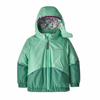 Baby Snow Jacket Green 2T
