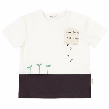 Pocket Tee Sprouts 3T