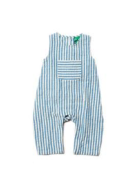 Dungarees Blue Stripe 2-3Y