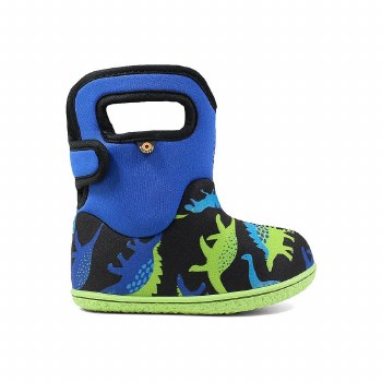 Baby Bogs Dino Blue 7T