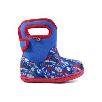 Baby Bogs Construction Blue 4T