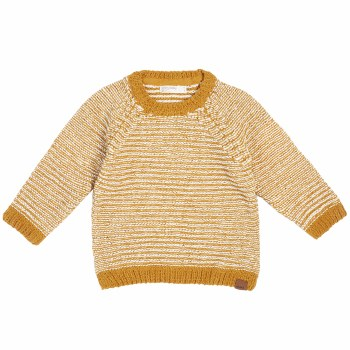 Gold Knit Sweater 2/3T