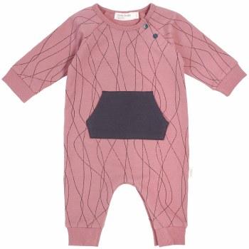 Knit Playsuit Alpine Pink 12m