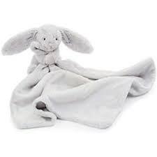 Bashful Grey Bunny Soother