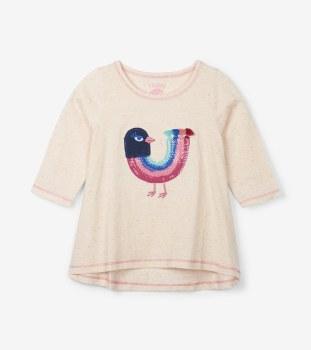 L/S Tee Rainbow Bird 3