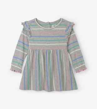 Baby Dress Sweet Stripe 12-18m