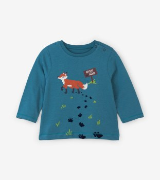 Baby Tee Clever Fox 2T