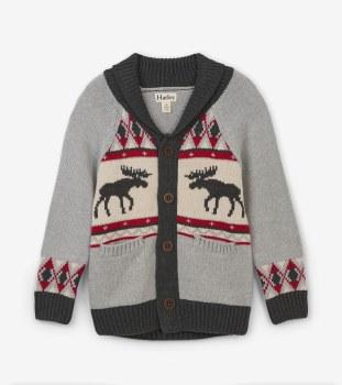 Moose Shawl Collar Cardigan 4