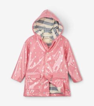 Raincoat Metallic Hearts 4