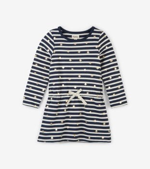 Terry Dress Starry Stripes 7