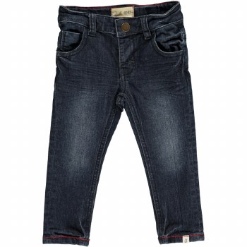 Navy Slim Fit Jean 7-8y