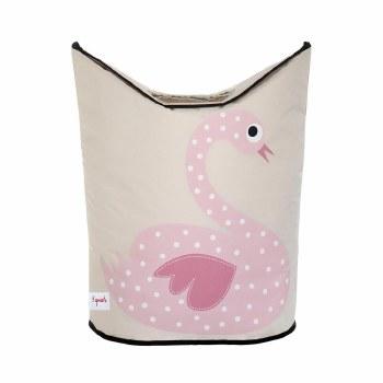 Laundry Hamper Swan