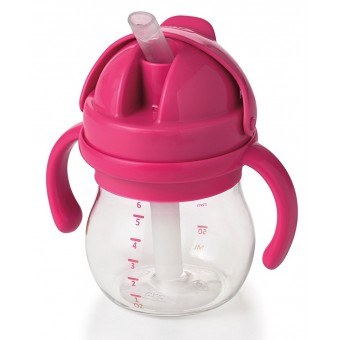Transitions Straw Cup 6oz Pink