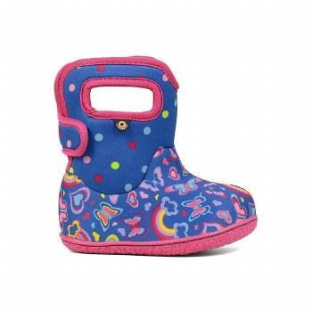 Baby Bogs Rainbow Blue 7T