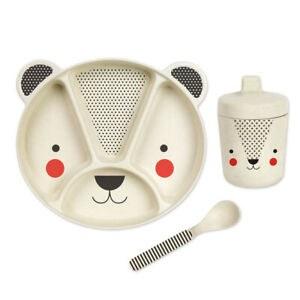 Baby Bear Bamboo Dinnerware