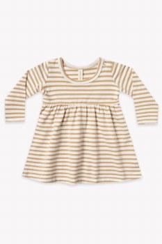 Baby Dress Honey Stripe 3-6m