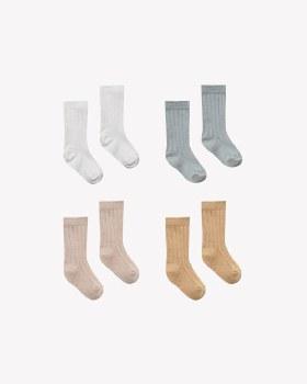 Baby Socks 4pk 0-6m