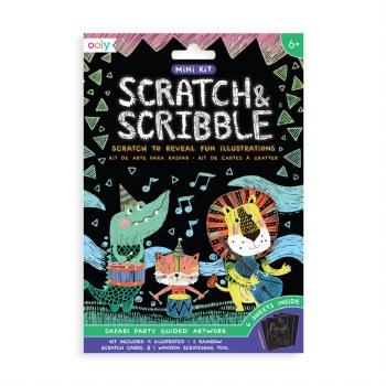 Mini Scratch Safari Party