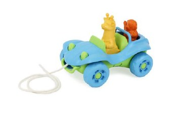 Dune Buggy Pull Toy Blue